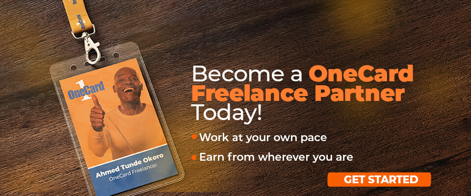 Join the OneCard Freelance Network and start earning more