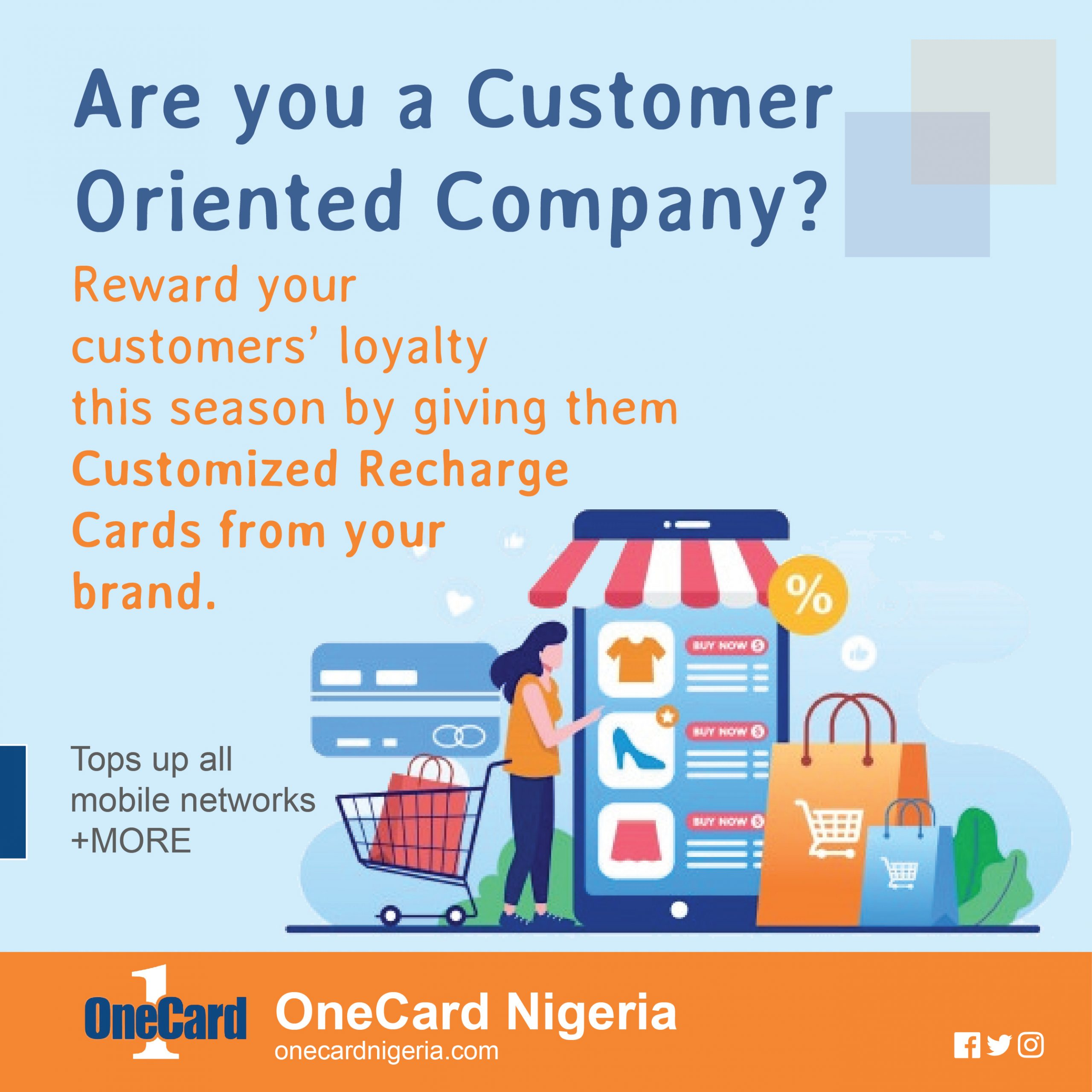 Order Customized OneCard